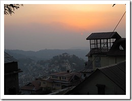 Shimla sunset
