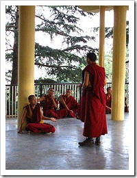 Monks in McLeod Ganj