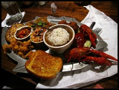 My mom's meal - Crawfish 7 ways @ Mike Anderson's