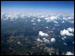 Plane view somewhere near Baton Rouge