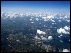 Plane view somewhere near Baton Rouge