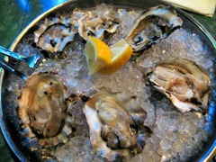 oysters from EaT: an Oyster Bar