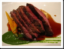 Flank steak (one of my meat meals)